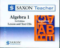 Saxon Teacher Algebra 1, Third Edition on CD-ROM