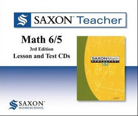 Saxon Teacher for Math 65 - Third Edition on CD-ROM