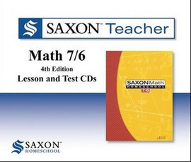 Saxon Teacher for Math 76 - Fourth Edition on CD-ROM