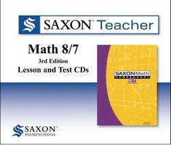 Saxon Teacher for Math 87 - Third Edition on CD-ROM