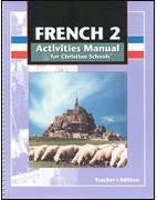 BJU Press French 2 Student Activities Manual Teacher's Edition