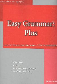Easy Grammar Plus (grades 7 & up)  Teacher Edition