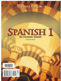 BJU Press Spanish 1 Teacher's Edition