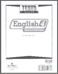 BJU Press English 4 Tests (2ed)