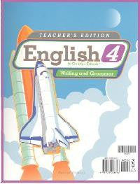 BJU Press English 4 Teacher's Edition (2ed)