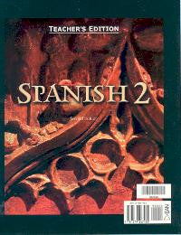 BJU Press Spanish 2 Teacher's Edition, 2nd Edition