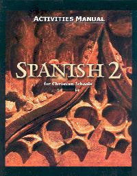 BJU Press Spanish 2 Student Activities Manual, 2nd Edition