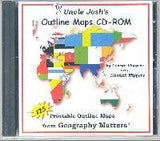 Uncle Josh's Outline Map CD-Rom