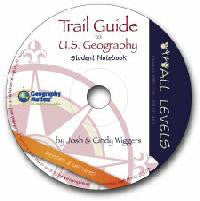 Trail Guide to U. S. Geography Student Notebook - CD-ROM
