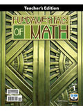 BJU Press Fundamentals of Math Teacher Edition (w/CD) 2ed