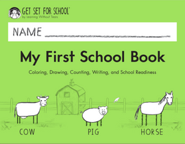 Get Set for School: My First School Book (Pre-K) - Handwriting Without Tears