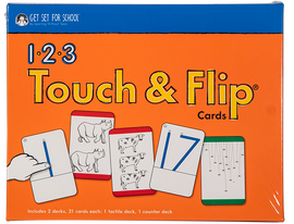 Get Set for School 123 Touch & Flip Cards (1-20) - Handwriting Without Tears