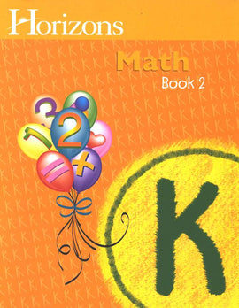 Horizons Math Kindergarten Workbook 2