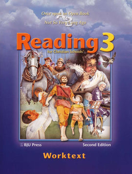 BJU Press Reading 3 Student Worktext 2nd edition