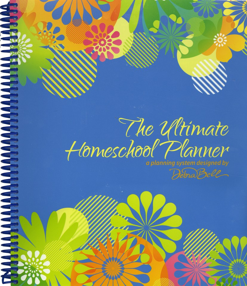 Ultimate Homeschool Planner (Blue Cover)