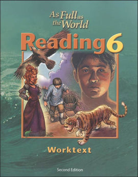 BJU Press Reading 6 Worktext