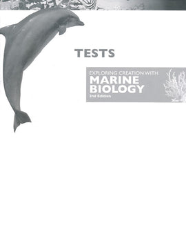 Apologia Exploring Creation with Marine Biology Tests, 2nd Edition
