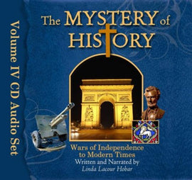 Mystery of History Volume 4 Audio Book Set