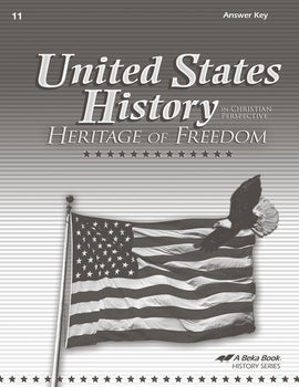 Abeka United States History: Heritage of Freedom Answer Key