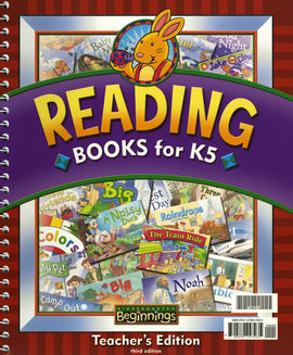 BJU Press Beginnings Reading Books for K5 Teacher's Edition, 3rd Edition