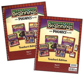 BJU Press Beginnings K5 Teacher's Edition, 3rd Edition
