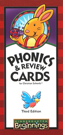 BJU Press Beginnings K5 Phonics and Review Cards, 3rd Edition