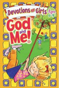 God and Me, Devotions For Girls ages 6-9 - Volume 1