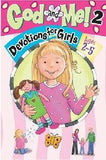 God and Me, Devotions For Girls ages 2-5 - Volume 2
