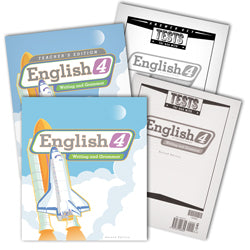 BJU Press English 4 Home School Kit, 2nd Edition
