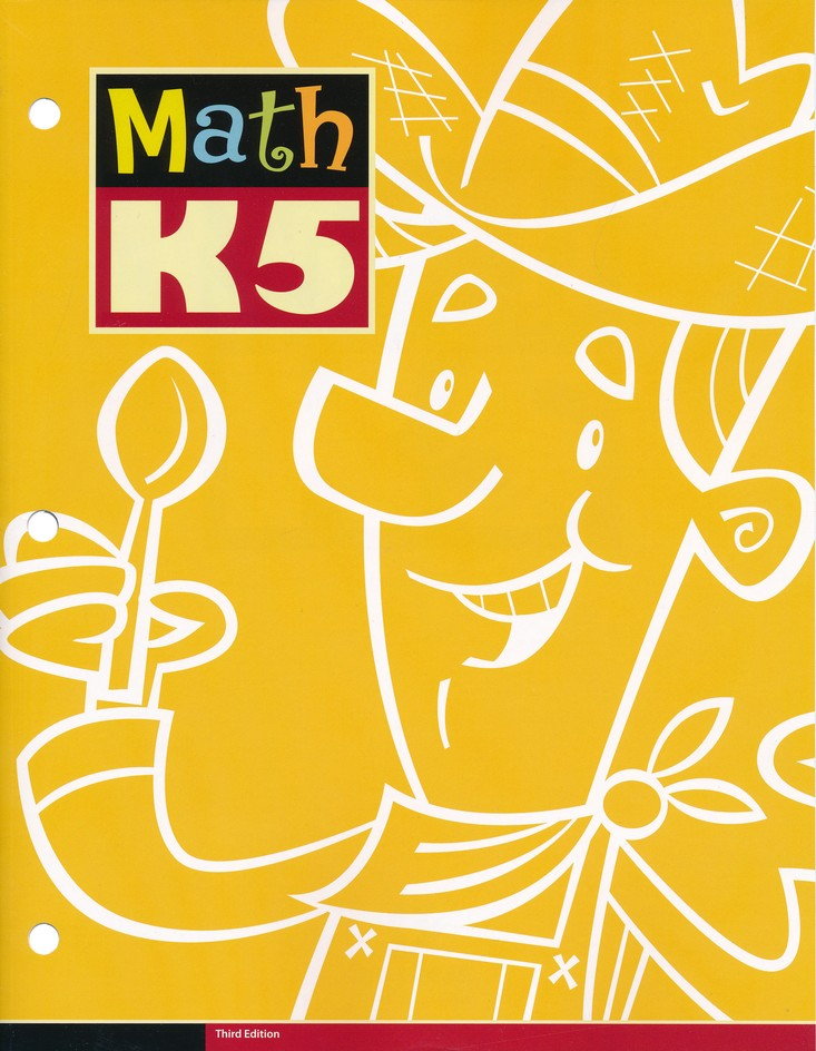 BJU Press Math K5 Student Workbook, 3rd Edition