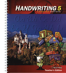 BJU Press Handwriting 5 Teachers Edition (2nd Ed)
