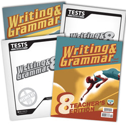 BJU Press Writing & Grammar 8 Home School Kit, 3rd Edition
