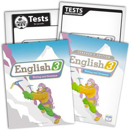 BJU Press English 3 Home School Kit, 2nd Edition