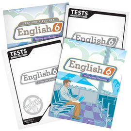 BJU Press English 6 Home School Kit, 2nd Edition