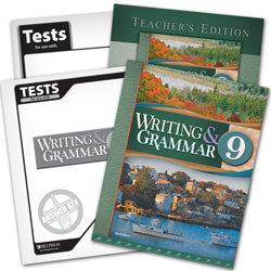 BJU Press Writing & Grammar 9 Home School Kit, 3rd Edition