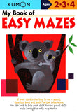 My Book of Easy Mazes (Ages 2-4, Kumon Workbooks)