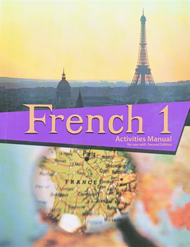 BJU Press French 1 Student Activities Manual, 2nd Edition