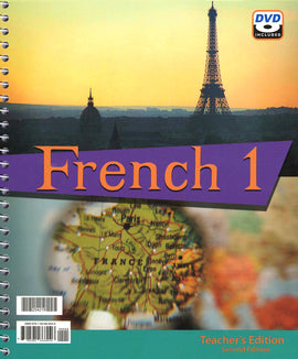 BJU Press French 1 Teacher's Edition with DVD, 2nd Edition