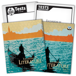 BJU Press Excursions in Literature Home School Kit, 3rd Edition