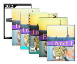 BJU Press French 1 Home School Kit, 2nd Edition