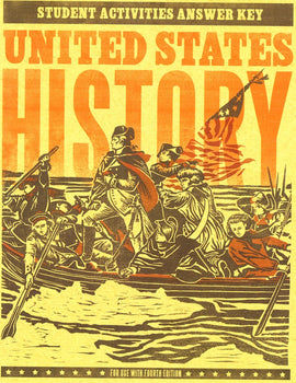 BJU Press United States History Grade 11 Student Activities Manual Teacher's Edition, 4th Edition