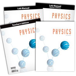 BJU Press Physics Home School Kit, 3rd Edition