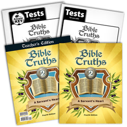 BJU Press Bible Truths 2 Home School Kit, 4th Edition