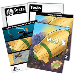 BJU Press Math 5 Home School Kit (3rd Ed)