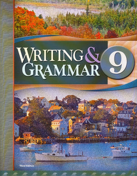 BJU Press Writing & Grammar 9 Student Worktext, 3rd Edition