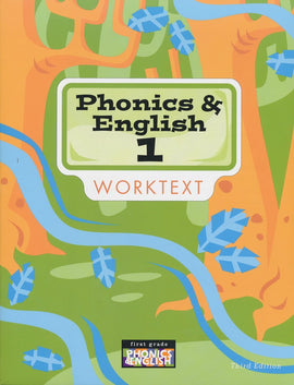 BJU Press Phonics and English 1 Worktext, 3rd Edition