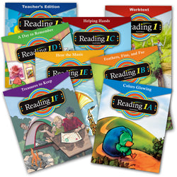 BJU Press Reading 1 Home School Kit, 4th Edition