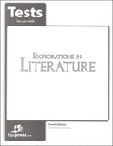 BJU Press Explorations in Literature Grade 7 Tests, 4th Edition