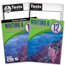 BJU Press Writing & Grammar 12 Home School Kit, 3rd Edition