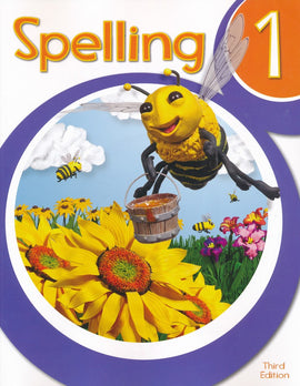 BJU Press Spelling 1 Student Worktext 3rd Edition